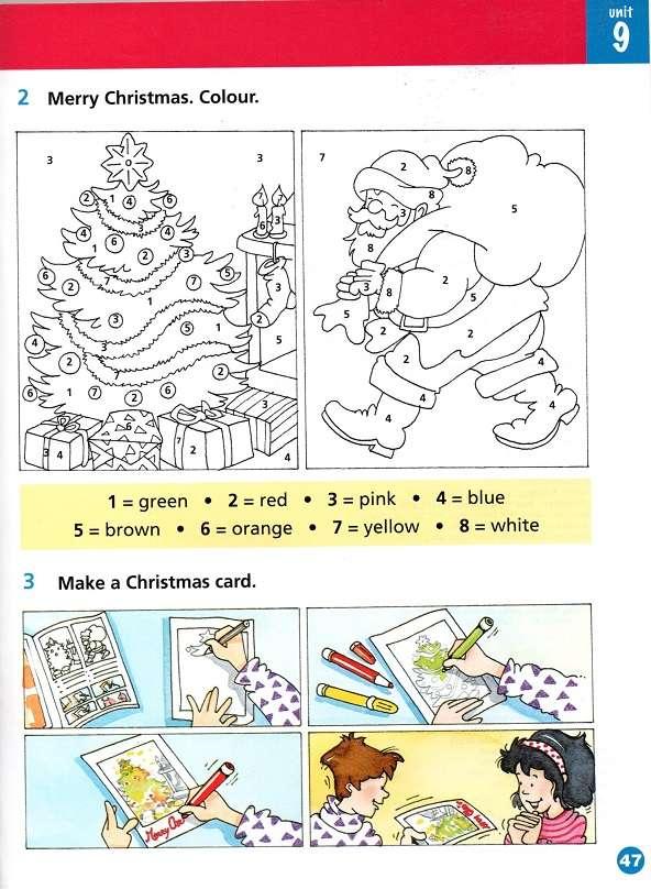 święta bożego narodzenia, christmas, karta pracy, worksheet, santa claus