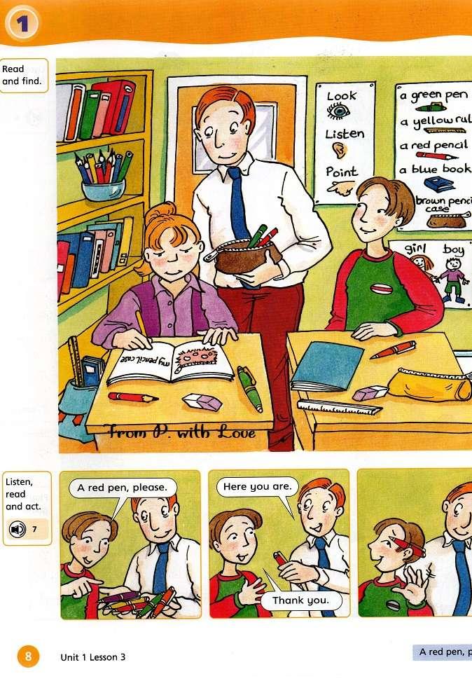 mężczyzna nauczyciel w klasie rysunek