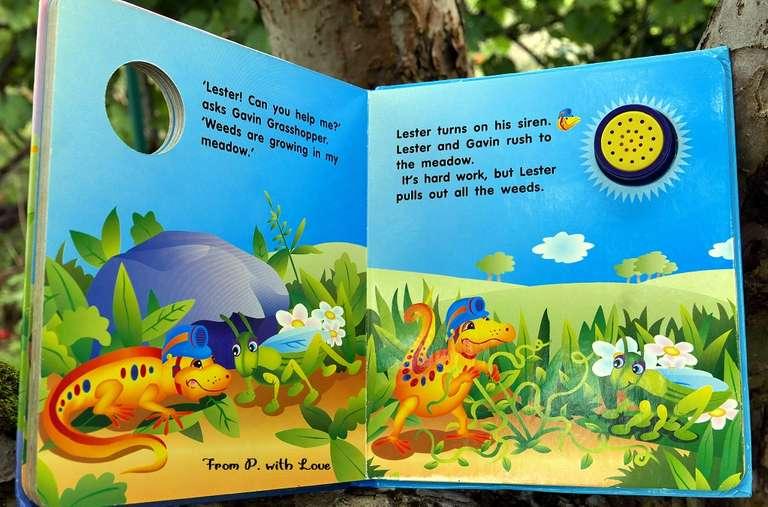 żółta jaszczurka książka dla dzieci